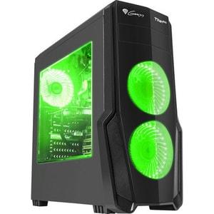 Carcasa GENESIS Titan 800 Green, USB 3.0, fara sursa, negru