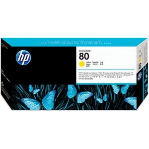 Cap imprimare HP 80 (C4823A), galben