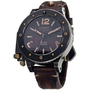 Ceas barbatesc U-BOAT U-42 Unicum 8088 Editio Secunda Titan, Automatic, 53mm, 30ATM