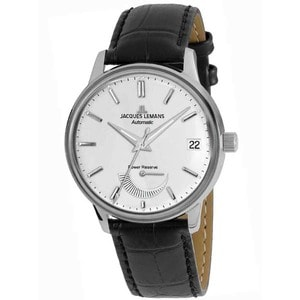 Ceas barbatesc JACQUES LEMANS N-222A Retro Classic, Automatic, 44mm, 5ATM
