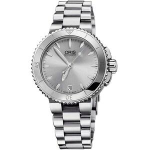 Ceas de dama ORIS 0173376524143-0781801P Aquis, Automatic, 36mm, 30ATM