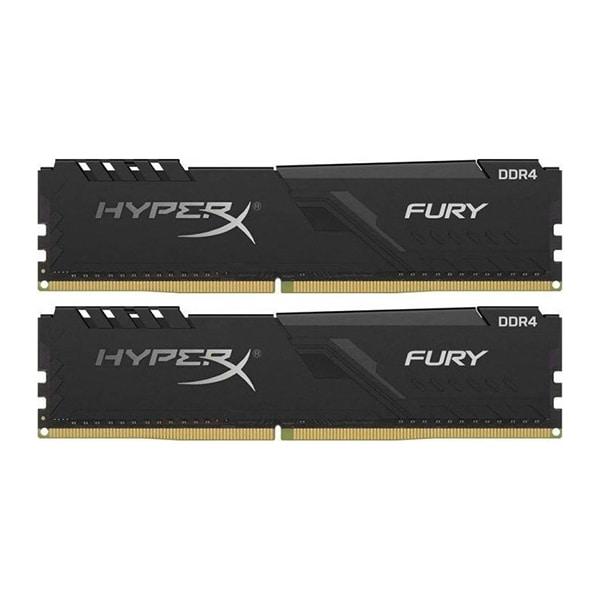 Memorie desktop KINGSTON HyperX Fury Black, 2x8GB DDR4, 3200MHz, CL16, HX432C16FB3K2/16