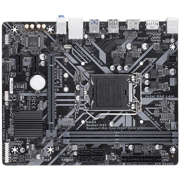 Placa de baza GIGABYTE H310M A 2.0, Socket 1151, mATX