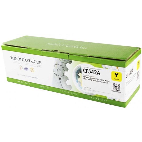 Toner STATIC CONTROL 002-01-SF542A compatibil cu HP CF542A, galben
