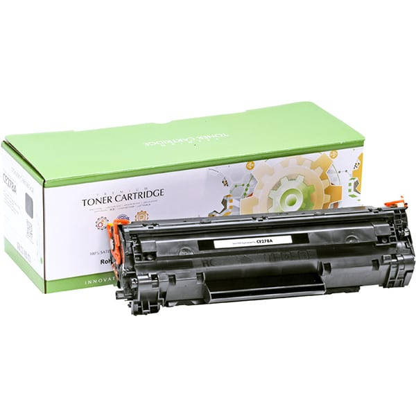 Toner STATIC CONTROL CRG-726 002-01-TE278A compatibil cu HP CE278A/Canon, negru