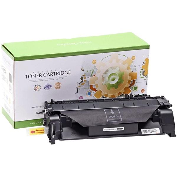 Toner STATIC CONTROL CRG-719 002-01-VE505A compatibil cu HP CE505A/Canon, negru