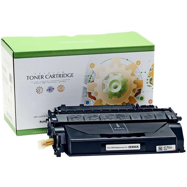 Toner STATIC CONTROL CRG-719H 002-01-VE505X compatibil cu HP CE505X/Canon, negru
