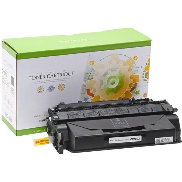 Toner STATIC CONTROL 002-01-VF280X compatibil cu HP CF280X, negru