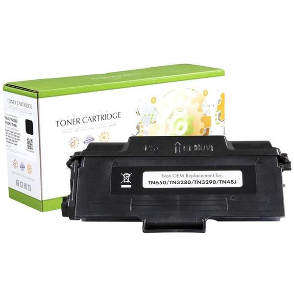 Toner STATIC CONTROL 002-03-QTN3280 compatibil cu Brother TN-3280, negru