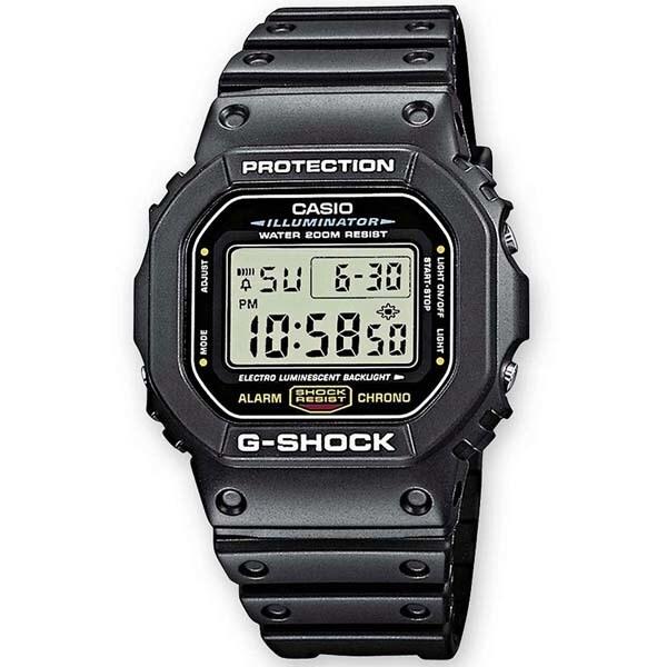 Ceas barbatesc CASIO G-Shock DW-5600E-1VER, 43mm, 20ATM