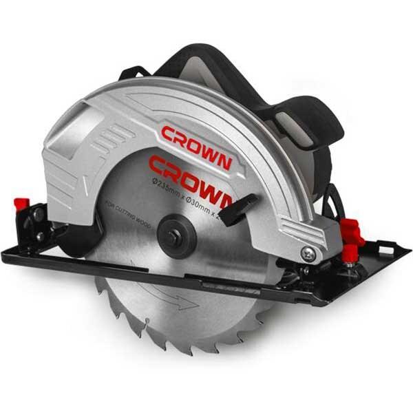 Fierastrau circular CROWN CT15210-235, 2000W, 4500rpm, disc 235mm, adancime 85mm