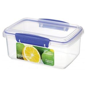 Caserola SISTEMA Klip It 4031075, 1l, plastic, transparent
