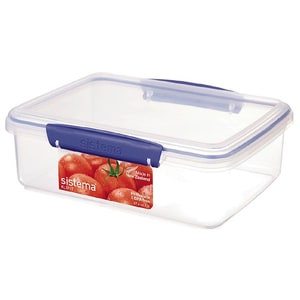 Caserola SISTEMA Klip It 4031080, 2l, plastic, transparent