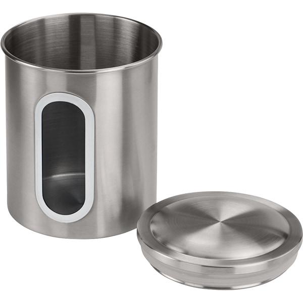 Recipient depozitare cafea XAVAX 111239, inox, argintiu