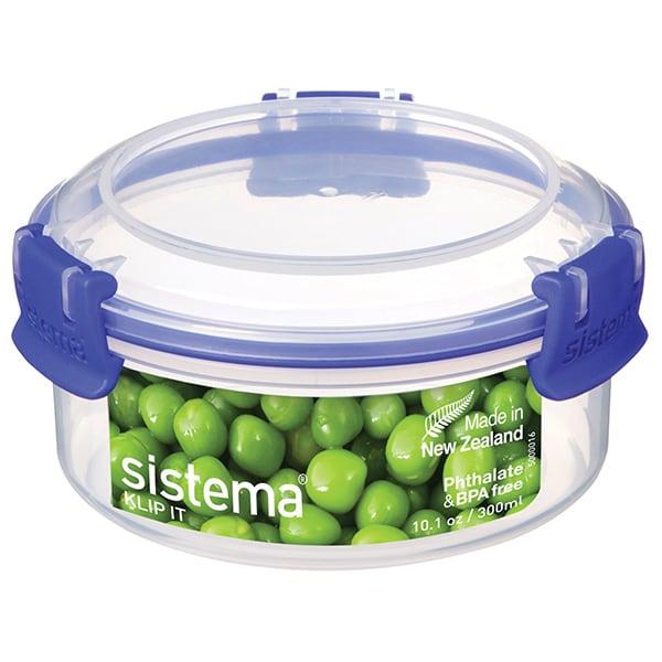 Cutie alimente plastic rotunda SISTEMA 4049273, 0.3l