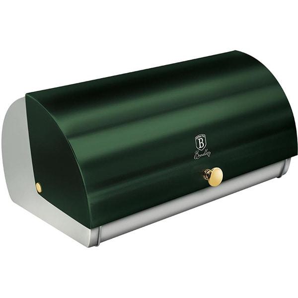 Cutie pentru paine BERLINGER HAUS Emerald BH/6267, otel, verde