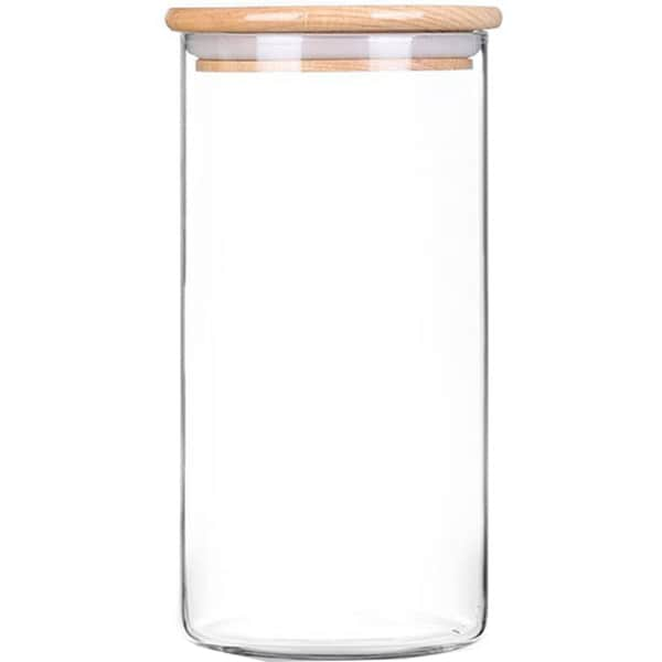 Recipient depozitare ZOKURA Z1033, 1.3l, sticla, transparent