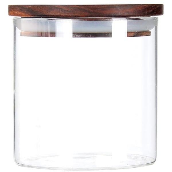 Recipient depozitare ZOKURA Z1208, 0.55l, sticla, transparent