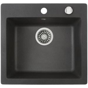Chiuveta bucatarie TEKA CLIVO50S, 1 cuva, compozit granit, schwarzmetallic