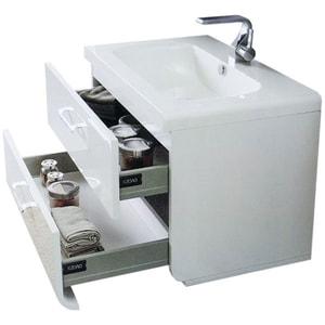 Chiuveta baie ROMSTAL 80KZ0005, montare sub blat, 70 x 48 cm, alb