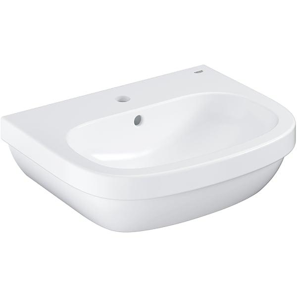 Chiuveta baie GROHE Euro Ceramic 3933600H, montare pe perete, 55 x 45 cm, alb