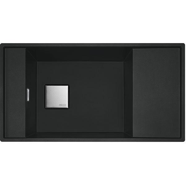 Chiuveta bucatarie FRANKE FSG 611-87 114.0627.323, 1 cuva, picurator reversibil, compozit granit, negru