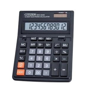 Calculator de birou CITIZEN SDC-444S, 12 cifre, negru