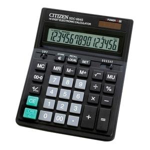 Calculator de birou CITIZEN SDC-664S, 16 cifre, negru