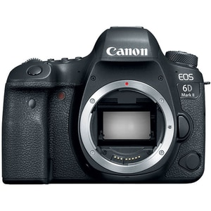 Aparat foto DSLR CANON EOS 6D Mark II, 26.2 Mp, Wi-Fi, Bluetooth, negru, Body