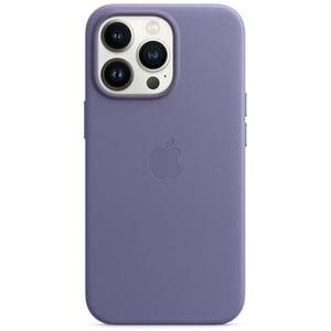 Carcasa Leather Case cu MagSafe pentru Apple iPhone 13 Pro, MM1F3ZM/A, Wisteria