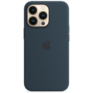 Carcasa Silicone Case cu MagSafe pentru Apple iPhone 13 Pro, MM2J3ZM/A, Abyss Blue