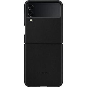 Carcasa pentru SAMSUNG Galaxy Z Flip3, EF-VF711LBEGWW, piele, negru