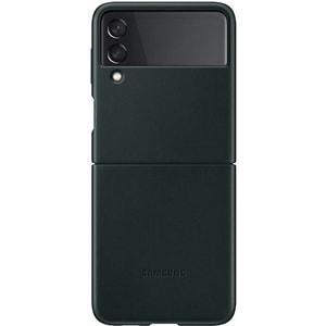 Carcasa pentru SAMSUNG Galaxy Z Flip3, EF-VF711LGEGWW, piele, verde
