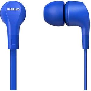 Casti PHILIPS TAE1105BL/00, Cu fir, In-ear, Microfon, albastru