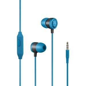 Casti PROMATE Ingot, Cu Fir, In-Ear, Microfon, albastru