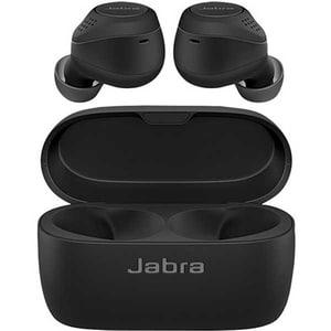 Casti JABRA Elite 75t, True Wireless, Bluetooth, In-Ear, Microfon, Noise Cancelling, Black