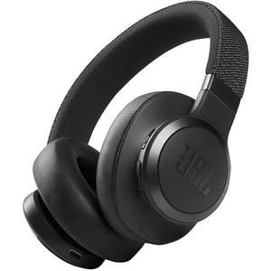 Casti JBL Live 660NC, Bluetooth, Over-ear, Microfon, Noise Cancelling, negru