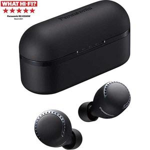 Casti PANASONIC RZ-S500WE-K, True Wireless, Bluetooth, In-Ear, Microfon, Noise Cancelling, negru