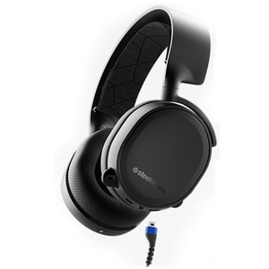 Casti Gaming Bluetooth STEELSERIES Arctis 3 2019, stereo, multiplatforma, negru