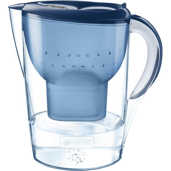 Cana filtranta BRITA Marella XL BR1026455, 3.5l, albastru-transparent
