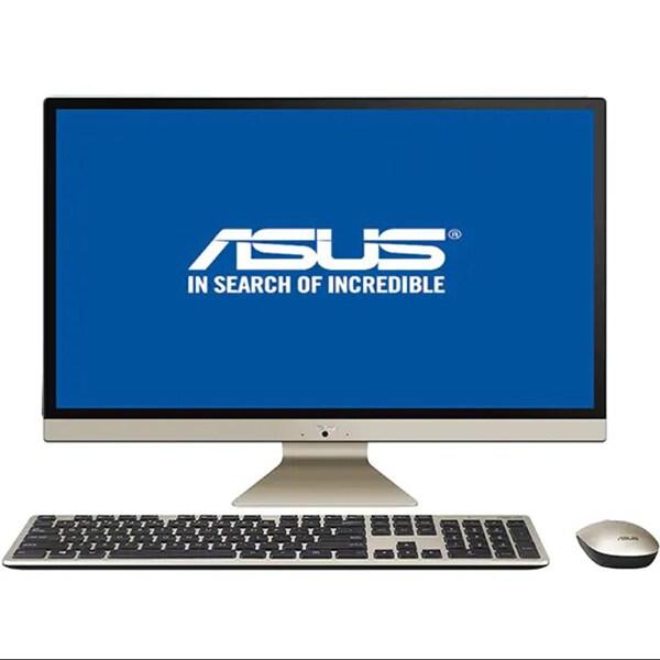 """Sistem PC All in One ASUS Vivo V272UAK-BA025D, 27"""" Full HD, Intel Core i7-8550U pana la 4.0GHz, 8GB, 1TB + SSD 512GB, Intel UHD Graphics 620, Endless"""