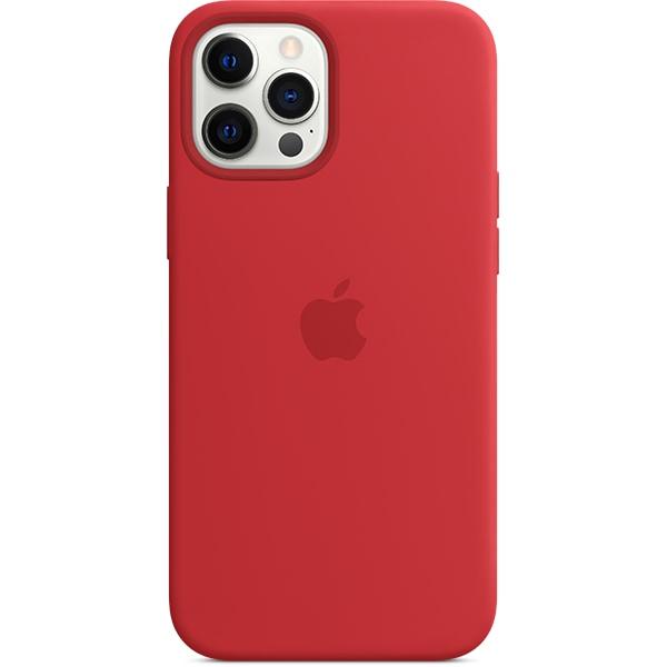 Carcasa cu MagSafe pentru Apple iPhone 12 Pro Max, MHLF3ZM/A, silicon, PRODUCT (RED)