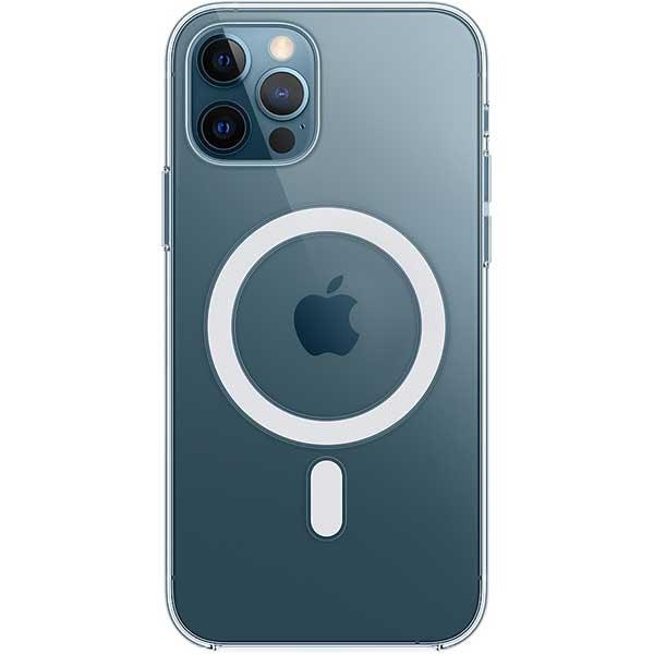 Carcasa cu MagSafe pentru Apple iPhone 12 Pro/iPhone 12, MHLM3ZM/A, transparent