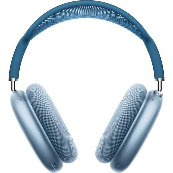 Casti APPLE AirPods Max, Bluetooth, Over-Ear, Microfon, Noise Cancelling, Sky Blue