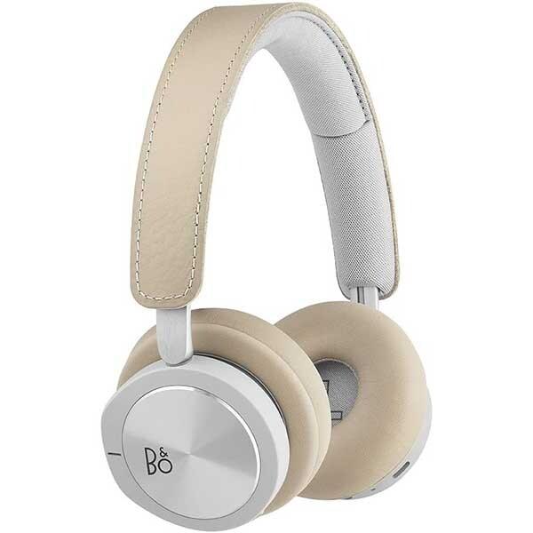 Casti BANG & OLUFSEN BeoPlay H8i, Bluetooth, Over-Ear, Microfon, Natural