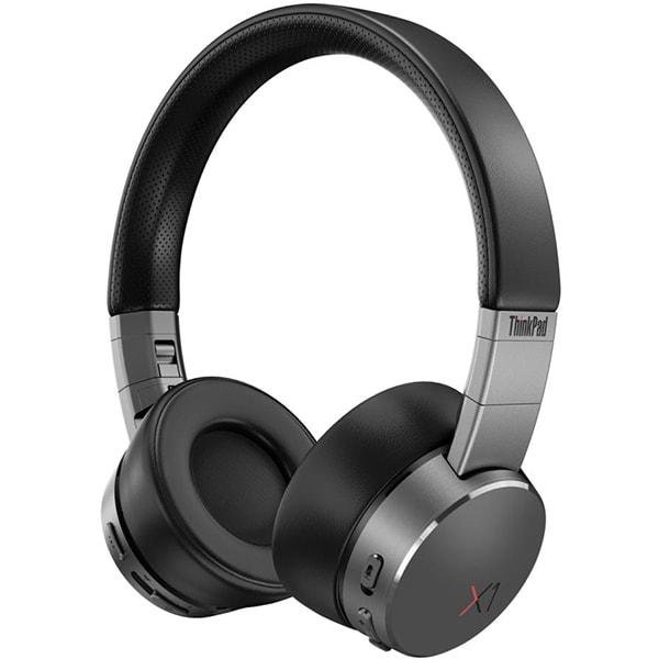 Casti Bluetooth LENOVO ThinkPad X1, ANC, USB, negru-gri