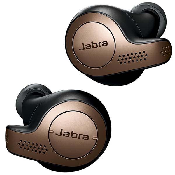 Casti JABRA Elite 65t, True Wireless, Bluetooth, In-Ear, Microfon, negru-auriu
