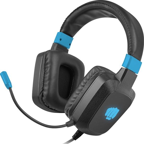 Casti Gaming FURY Raptor, stereo, 3.5mm, negru-albastru