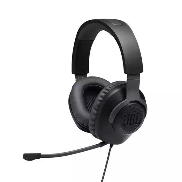 Casti Gaming JBL Quantum 100, multiplatforma, 3.5mm, negru