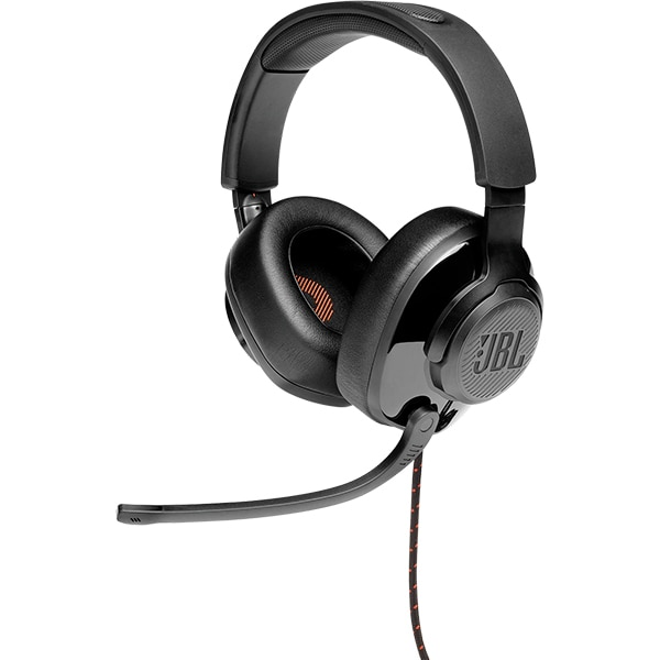 Casti Gaming JBL Quantum 200, multiplatforma, 3.5mm, negru